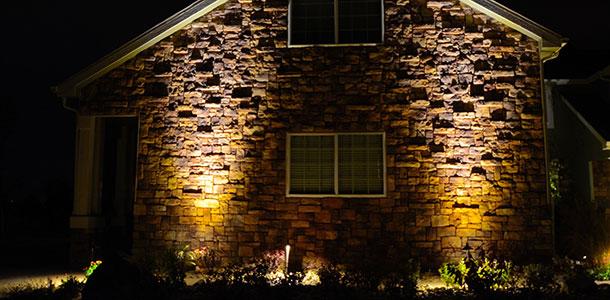 Outdoor Landscape Lighting Placement : Arrowleaf landscape colorado nightscapes outdoor